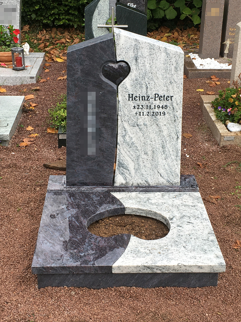 Kosten Urnengrabstein